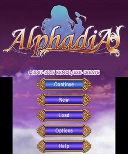 Alphadia (3DS)  © Kemco 2015   1/5