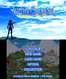 Justice Chronicles (3DS)   © Kemco 2016    1/5