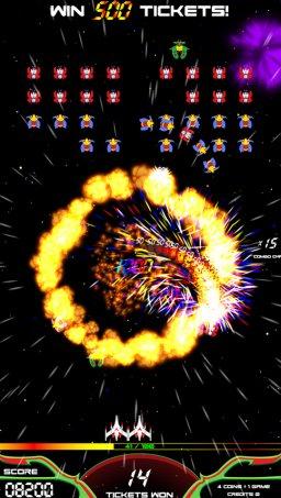 Galaga Assault (ARC)  © Bandai Namco 2016   1/5