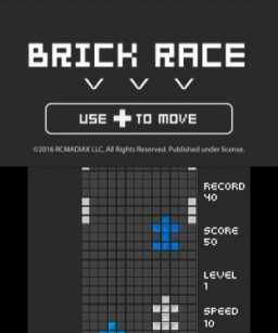 Brick Race (3DS)  © RCMADIAX 2016   2/3