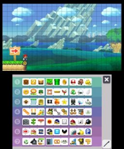 Super Mario Maker For Nintendo 3DS (3DS)   © Nintendo 2016    1/4