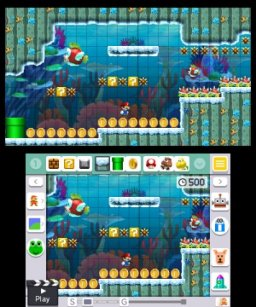 Super Mario Maker For Nintendo 3DS (3DS)   © Nintendo 2016    2/4