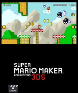 Super Mario Maker For Nintendo 3DS (3DS)   © Nintendo 2016    3/4