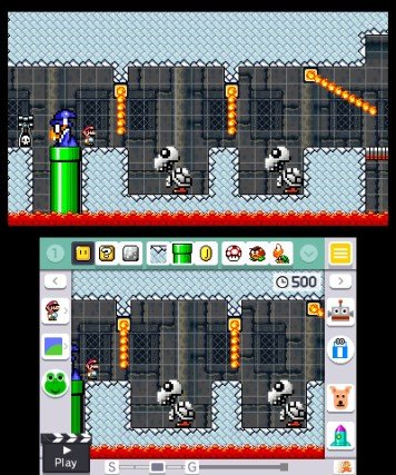 Super Mario Maker For Nintendo 3DS (3DS)   © Nintendo 2016    4/4