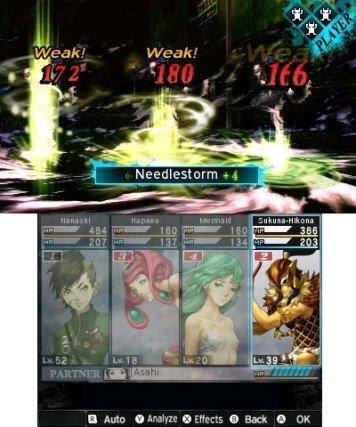 Shin Megami Tensei IV: Apocalypse (3DS)  © Atlus 2016   4/5