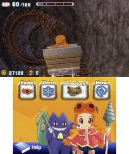 Gurumin 3D: A Monstrous Adventure (3DS)  © Mastiff 2016   1/3