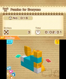 Picross 3D: Round 2 (3DS)   © Nintendo 2015    1/3