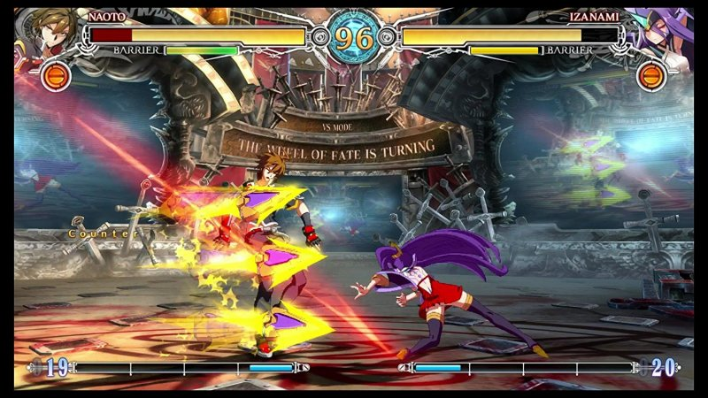 BlazBlue: Central Fiction (PS4)   © Arc System Works 2016    4/4