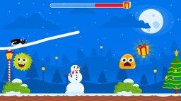 Christmas Adventure Of Rocket Penguin (WU)  © Petite Games 2015   2/3