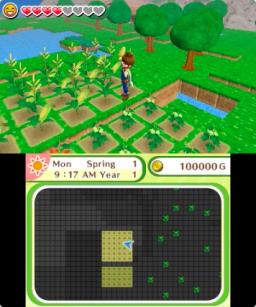Harvest Moon: Skytree Village (3DS)  © Rising Star 2016   1/3