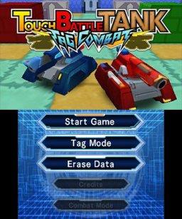 Touch Battle Tank: Tag Combat (3DS)  © Circle Entertainment 2016   1/3