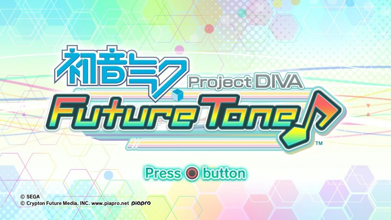 Hatsune Miku: Project Diva Future Tone (PS4)   © Sega 2016    4/6