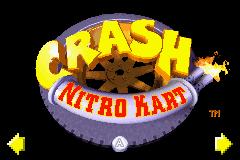Crash Superpack: Crash Bandicoot 2: N-Tranced / Crash Nitro Kart (GBA)  © VU Games 2005   1/3
