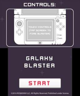 Galaxy Blaster (3DS)  © RCMADIAX 2016   1/4