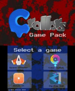 Crollors Game Pack (3DS)   © Nvriezen 2016    1/3