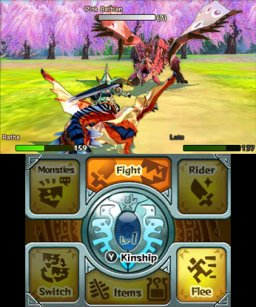 Monster Hunter Stories (3DS)   © Capcom 2016    2/3