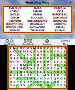 Word Search 10K (3DS)   © Lightwood 2017    3/3