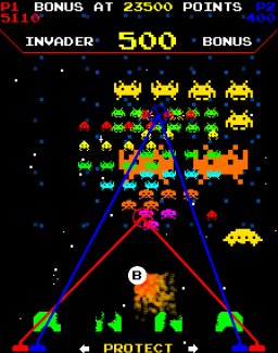 Space Invaders Frenzy (ARC)  © Raw Thrills 2017   2/2