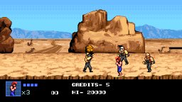 Double Dragon IV (PS4)   © Arc System Works 2017    2/3