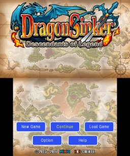 Dragon Sinker (3DS)   © Kemco 2017    1/3