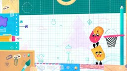 Snipperclips: Cut It Out, Together! (NS)  © Nintendo 2017   2/3