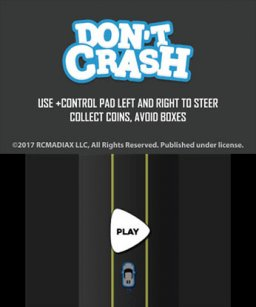 Don't Crash Go (3DS)   © RCMADIAX 2017    1/3
