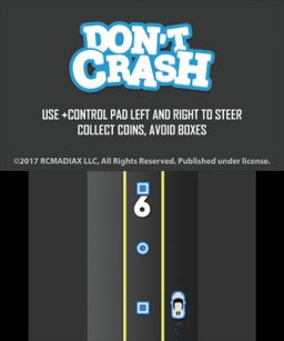 Don't Crash Go (3DS)   © RCMADIAX 2017    2/3
