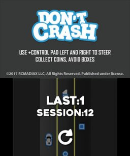 Don't Crash Go (3DS)   © RCMADIAX 2017    3/3