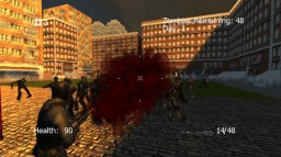 The $1 Zombie Game (X360)  © Rmm5 2011   2/3