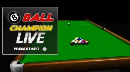 8 Ball Champion Live (X360)   © Maximinus 2012    1/3