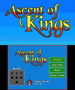 Ascent Of Kings (3DS)   © Nostatic 2017    1/3