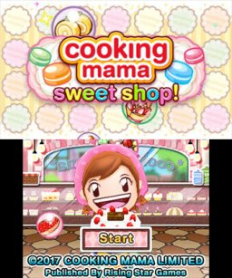 Cooking Mama: Sweet Shop (3DS)  © Rising Star 2014   1/3