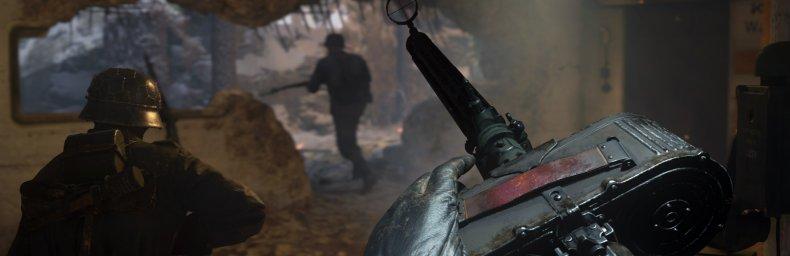 <h2 class='titel'>Call Of Duty: WWII</h2><h2 class='score'>5/6</h2><div><span class='citat'>&bdquo;...historien [er] altså blandt de absolut bedre, serien endnu har budt på, hvilket – sammenholdt med gennemført gameplay og høj teknisk standard – gør det til et af de bedre Call of Duty-spil i min bog.&ldquo;</span><span class='forfatter'>- Christian S. Wittus, Geek Culture</span></div>