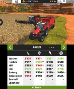 Farming Simulator 18 (3DS)   © Focus 2017    1/3