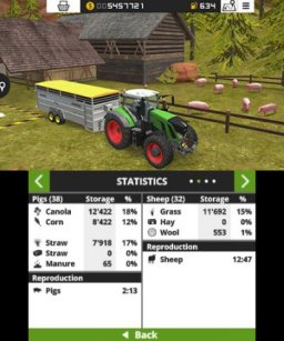 Farming Simulator 18 (3DS)   © Focus 2017    2/3