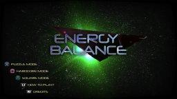 Energy Balance (PS4)  © Sometimes You 2017   1/3