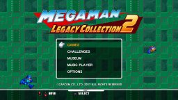 Mega Man Legacy Collection 2 (PS4)   © Capcom 2017    1/3