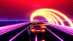 Neon Drive (PS4)  © Fraoula 2017   1/3