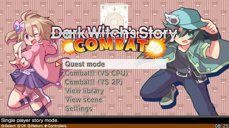 Brave Dungeon + Dark Witch's Story: Combat (NS)   © Inside System 2017    4/6