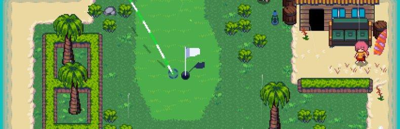 """<h2 class='titel'>Golf Story [eShop]</h2><h2 class='score'>6/10</h2><div><span class='citat'>""""Det meste er lige til i starten, men sidst i spillet bliver det ret svært. Manglede lidt mere info omkring hvordan de forskellige ting virker. """"</span><span class='forfatter'>- KroeboCop</span></div>"""