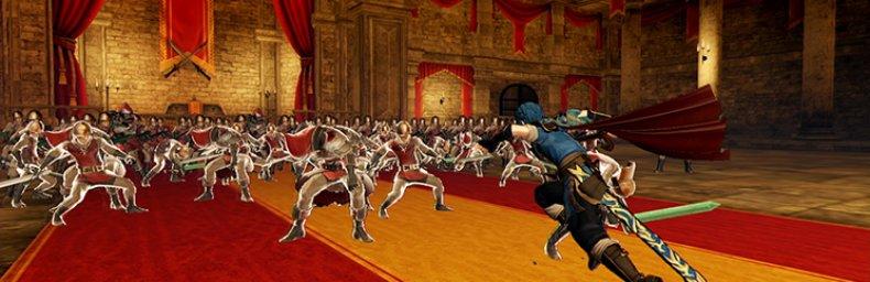 <h2 class='titel'>Fire Emblem Warriors</h2><h2 class='score'>4.5/5</h2><div><span class='citat'>&bdquo;...en masse timers underholdning, fra start til slut. Der er sjov for Fire Emblem fans, Dynasty Warriors fans, eller generelle fans af Hack'n'slash genren.&ldquo;</span><span class='forfatter'>- Mikkel Wiesner, Gamers Lounge</span></div>