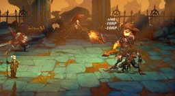 Battle Chasers: Nightwar (PS4)  © THQ Nordic 2017   1/3