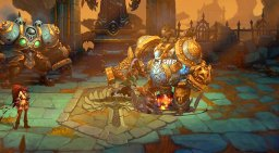 Battle Chasers: Nightwar (PS4)   © THQ Nordic 2017    3/3