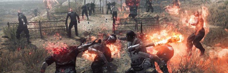 <h2 class='titel'>Metal Gear Survive</h2><div><span class='citat'>&bdquo;56 timer inde i spillet og jeg er nået til et punkt, hvor jeg kan crafte et device som sandsynligvis vil trigge opgør med slutbossen.  Jeg har ikke så travlt med at gøre det endnu. Som minimum vil jeg gerne have fundet ...&ldquo;</span><span class='forfatter'>- Jmog</span></div>