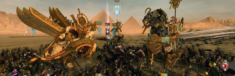 <h2 class='titel'>Total War: Warhammer II: Rise Of The Tomb Kings</h2><h2 class='score'>8/10</h2><div><span class='citat'>&bdquo;...er ikke en essentiel, men ganske fornøjelig, og ganske historiekorrekt udvidelse med en del nye elementer og udfordringer.&ldquo;</span><span class='forfatter'>- Kim Olsen, Gamereactor</span></div>