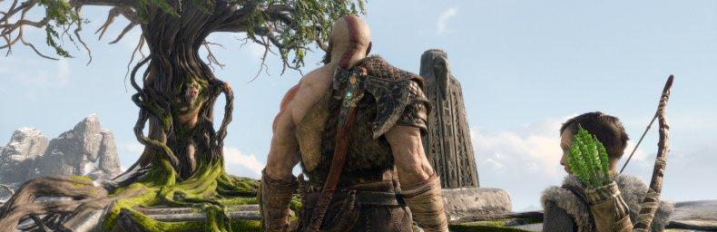 <h2 class='titel'>God Of War (2018)</h2><h2 class='score'>5.0/5</h2><div><span class='citat'>&bdquo;Nok er Kratos blevet ældre, men han kan stadig uddele øretæver som ingen anden. God of War er intet mindre end fantastisk!&ldquo;</span><span class='forfatter'>- Jonas Plum, Gamers Lounge</span></div>
