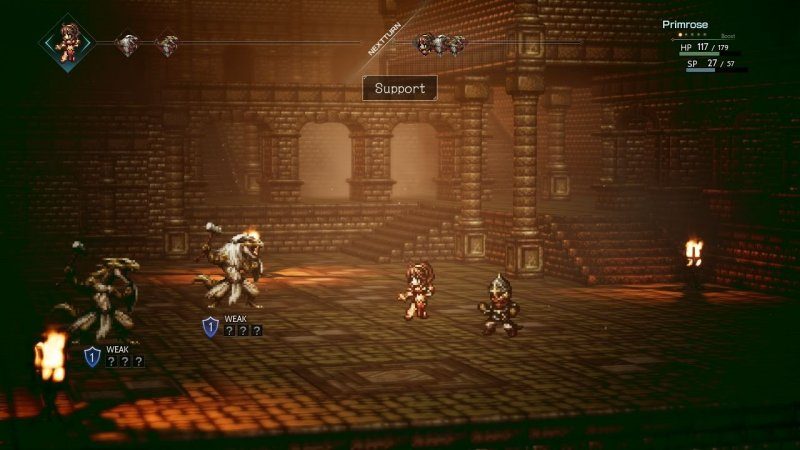 Octopath Traveler (NS)   © Nintendo 2018    4/6