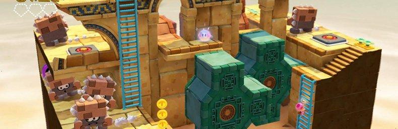 <h2 class='titel'>Captain Toad: Treasure Tracker</h2><h2 class='score'>4.0/5</h2><div><span class='citat'>&bdquo;Hvis du er til puzzles, Toads eller kompakte små og super smukke baner, så bør du prøve Captain Toad: Treaser Tracker.&ldquo;</span><span class='forfatter'>- Mikkel Wiesner, Gamers Lounge</span></div>