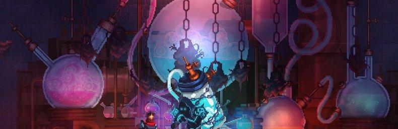 <h2 class='titel'>Dead Cells</h2><div><span class='citat'>&bdquo;Rogue Legacy spiller ualmindeligt floaty og træls. Dead Cells spiller på niveau med Shinobi III som er det tighteste spil jeg nogensinde har spillet :)  Bare en skam det er Rogue like(lite?), en genre der sætter al for ...&ldquo;</span><span class='forfatter'>- Konsolkongen</span></div>