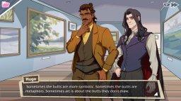 Dream Daddy: Dadrector's Cut (PS4)  © Game Grumps 2018   2/3